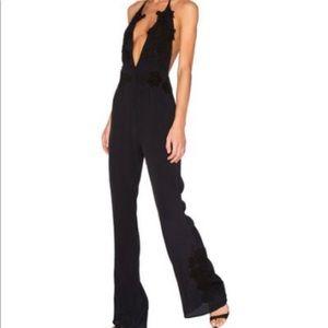 For Love & Lemons Laney Lou jumpsuit - black - S